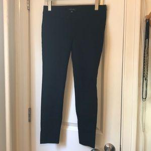Ann Taylor Side Zip Slim Black Pants